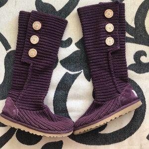 Knit UGG boots - like new!